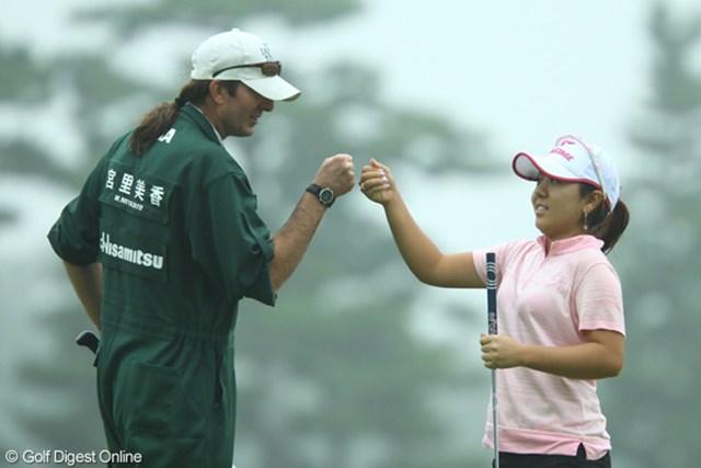 2009年 日本女子オープン 2日目 宮里美香 雨の中、ノーボギーの完璧なラウンド。史上最年少のメジャー優勝へ突き進む宮里美香