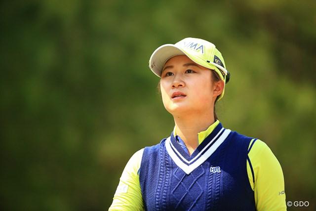 2017年 アクサレディスゴルフトーナメント in MIYAZAKI 最終日 森田遥 この選手もまだ未勝利