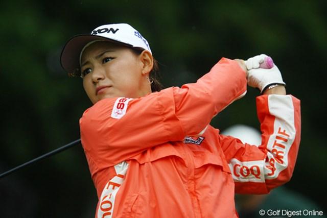 2009年 日本女子オープン 2日目 横峯さくら 2日続けてノーボギー。危なげないゴルフを続ける横峯さくら