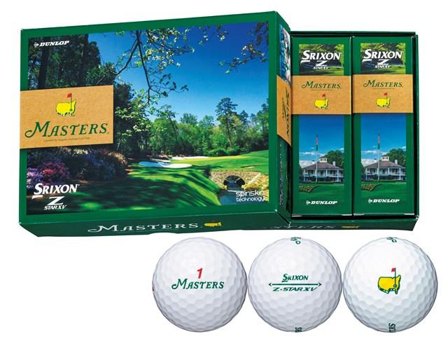 松山英樹が使用するボールにマスターズのロゴやマークをプリントしたボール 松山英樹が使用するボールにマスターズのロゴやマークをプリントしたボール