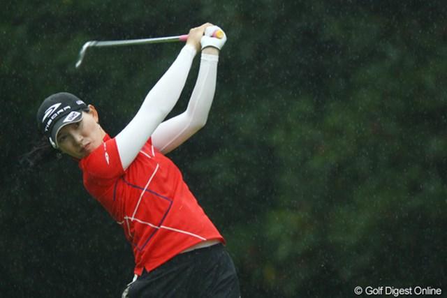 2009年 日本女子オープン 2日目 イム・ウナ イム・ウナが目指すものは、日本人にとってはちょっぴり意外?