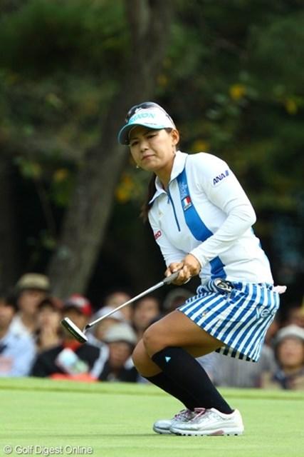 2009年 日本女子オープン最終日 横峯さくら 18番で4mを沈めてプレーオフに進出した横峯だったが…