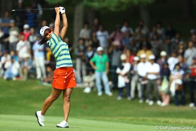 2009年 日本女子オープン最終日 宮里藍 単独3位フィニッシュで1,078万を稼いだ宮里藍。賞金シードに近づき「ちょっと満足です」