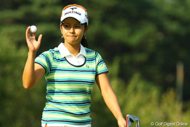 2009年 日本女子オープン最終日 宮里藍 優勝には届かなかったが、多くのギャラリーを盛り上げた宮里藍