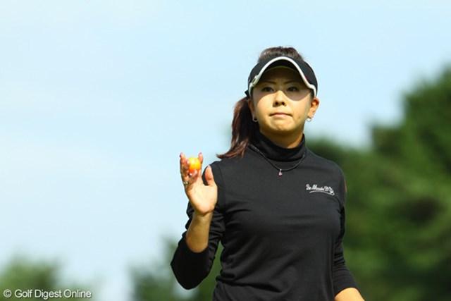 2009年 日本女子オープン最終日 佐伯三貴 4日間アンダーパープレーの堅実なゴルフでした。