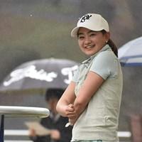 2勝目に王手の曽田。あすは逃げ切りを図る(大会提供) 2017年 Hanasaka Ladies Yanmar Golf Tournament 2日目 曽田千春