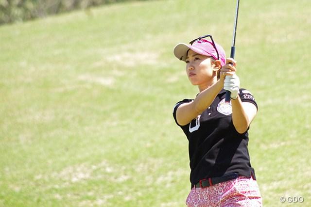 2017年 KKT杯バンテリンレディスオープン 事前 上田桃子 上田桃子は2年ぶりの地元大会に気合いを込めた