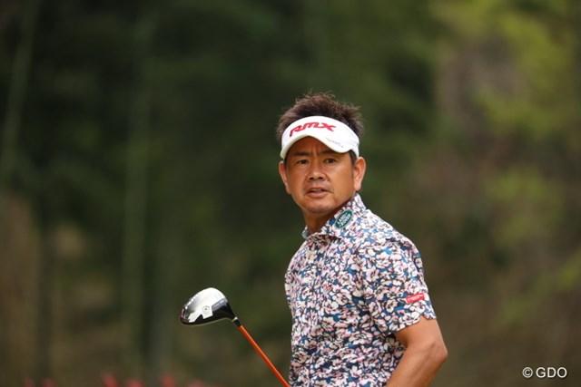2017年 東建ホームメイトカップ 3日目 藤田寛之 3季ぶりのタイトルに前進した藤田寛之。2打差からの逆転を狙う
