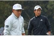 2017年 東建ホームメイトカップ 3日目 竹安俊也(右)と藤本佳則