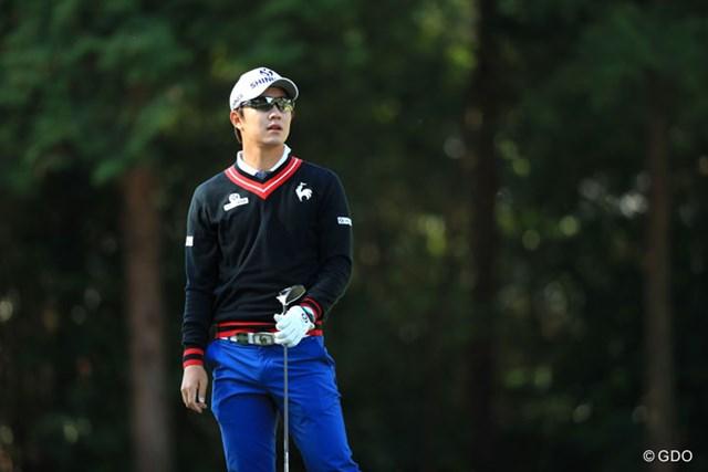 2017年 パナソニックオープンゴルフチャンピオンシップ 初日 宋永漢 ヨン様はやっぱりイケメン
