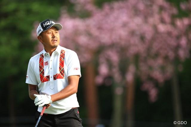 久々の上位発進を決めた岩田寛。日米両ツアーのシード確保へ向けた道はこれからだ