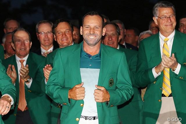 2017年 クラシコ セルヒオ・ガルシア やっとの思いで手に入れたグリーンジャケットを羽織ってクラシコに臨む