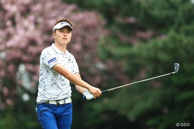 2017年 パナソニックオープンゴルフチャンピオンシップ 2日目 大堀裕次郎 日本勢最上位の2位につけた大堀裕次郎