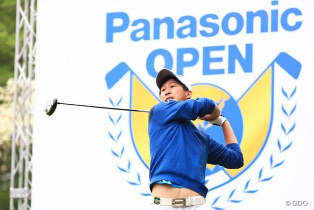 2017年 パナソニックオープンゴルフチャンピオンシップ 2日目 星野陸也 実はかなりの飛ばし屋です