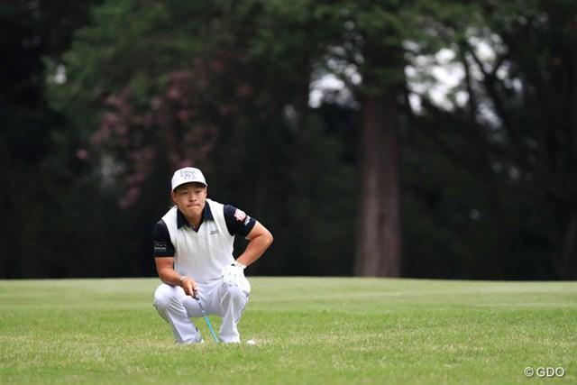 2017年 パナソニックオープンゴルフチャンピオンシップ 2日目 藤本佳則 後半33でまわってるもんな~。4アンダー11位タイ