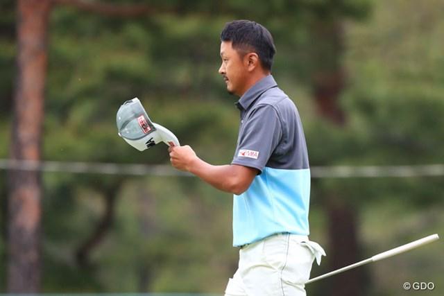2017年 パナソニックオープンゴルフチャンピオンシップ 3日目 岩田寛 ギャラリーにご挨拶