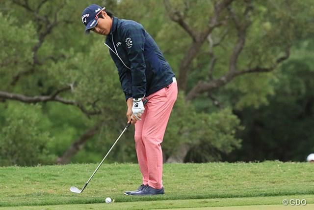 2017年 バレロテキサスオープン 3日目 石川遼 石川遼は後半に後退し、通算イーブンパーでホールアウトした