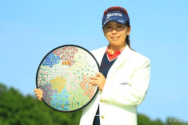 2季ぶりの優勝を遂げた吉田弓美子
