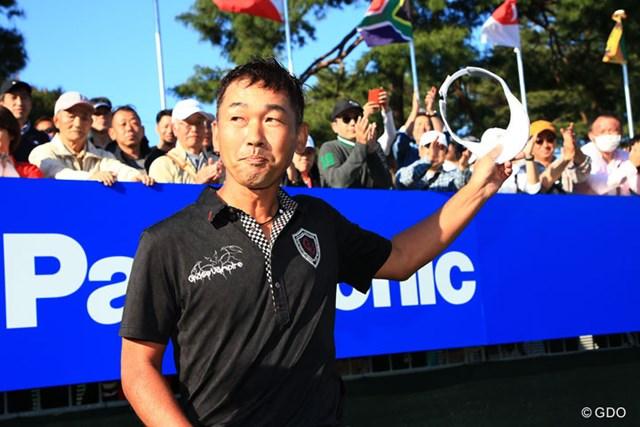 2017年 パナソニックオープンゴルフチャンピオンシップ 最終日 久保谷健一 6打差の大逆転で5年ぶりの優勝を手にした久保谷健一