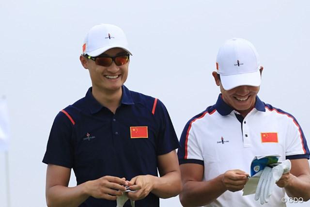 昨年覇者の李昊桐(左)と一昨年に勝った呉阿順※撮影は2016年リオデジャネイロ五輪
