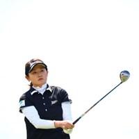 根強いファンのためにも試合いっぱい出てほしいです。 2017年 サイバーエージェント レディスゴルフトーナメント 初日 北田瑠衣