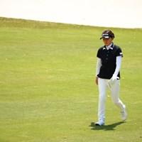 北田さんが久しぶりに来ただ。 2017年 サイバーエージェント レディスゴルフトーナメント 初日 北田瑠衣