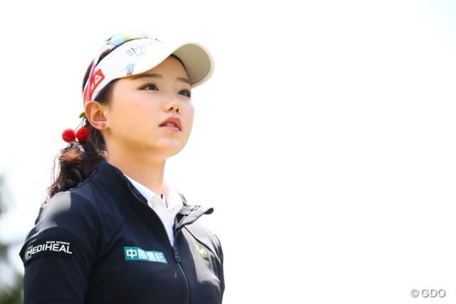 2017年 サイバーエージェント レディスゴルフトーナメント 初日 セキ・ユウティン 女子プロの中でも相当可愛いんだろうなぁ。