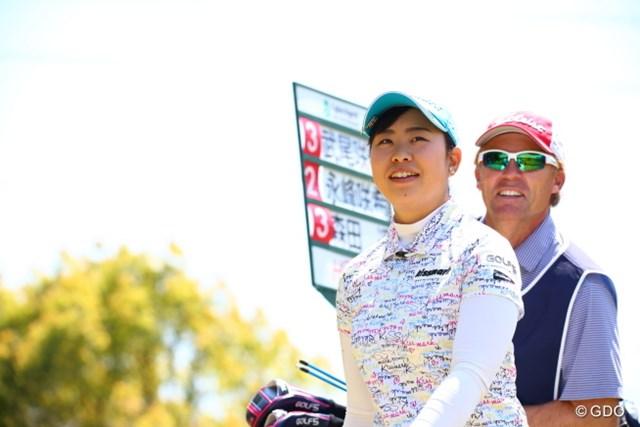 2017年 サイバーエージェント レディスゴルフトーナメント 2日目 武尾咲希 前半良かったんだけどね。後半伸ばせなかったみたい。