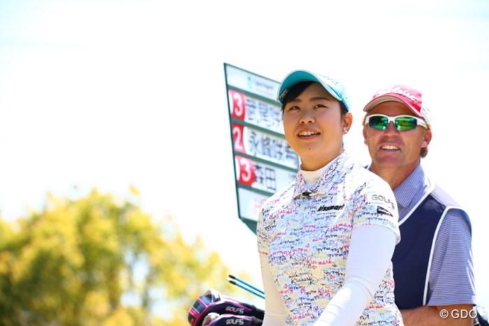 前半良かったんだけどね。後半伸ばせなかったみたい。 2017年 サイバーエージェント レディスゴルフトーナメント 2日目 武尾咲希