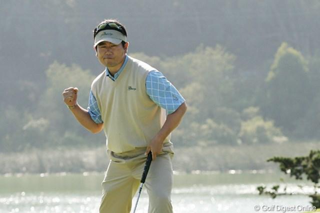 2009年 ザ・プレジデンツカップ2日目 Y.E.ヤン メジャーチャンピオンであり、タイガーを破った男でもあるY.E.ヤン
