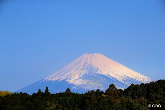 今日は1日中富士山が見える快晴!