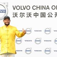 逆転でツアー4勝目を掴んだアレクサンダー・レビ(Lintao Zhang/Getty Images) 2017年 ボルボ中国オープン 最終日 アレクサンダー・レビ