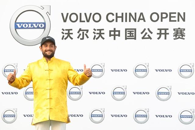 アレクサンダー・レビ アレクサンダー・レビは前週に中国で優勝した(Lintao Zhang/Getty Images)