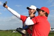 2017年 ゴルフシックス 最終日  トービヨン・オルセン、ルーカス・ビェルレガード