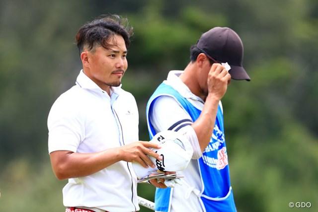 2017年 日本プロ選手権 日清カップヌードル杯 初日 梅山知宏 25歳の梅山知宏が4位発進。東北福祉大では松山英樹と苦楽をともにした仲だ