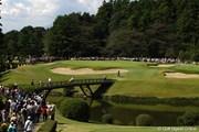 2009年 キヤノンオープン最終日 5番ホール