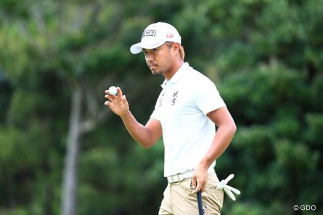 2017年 日本プロ選手権 日清カップヌードル杯 3日目 小平智 小平智は首位と2打差の暫定2位。残り22ホールで逆転Vを狙う