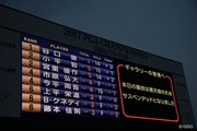 2017年 日本プロ選手権 日清カップヌードル杯 3日目 スコアボード