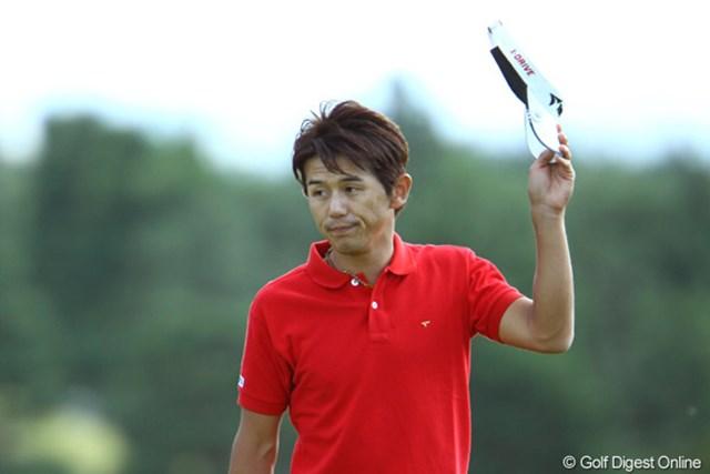 2位タイで終えた近藤共弘は、イーグル賞100万円も獲得してニコニコだった