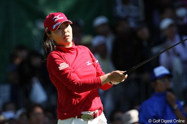 2009年 SANKYOレディースオープン 最終日 服部真夕 最後はプレーオフ進出のチャンスを逃したが納得のゴルフを見せた服部真夕