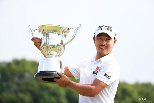 2017年 関西オープンゴルフ選手権競技 事前 チョ・ビョンミン 昨年は韓国のチョ・ビョンミンが日本ツアーデビュー戦を逆転優勝で飾った