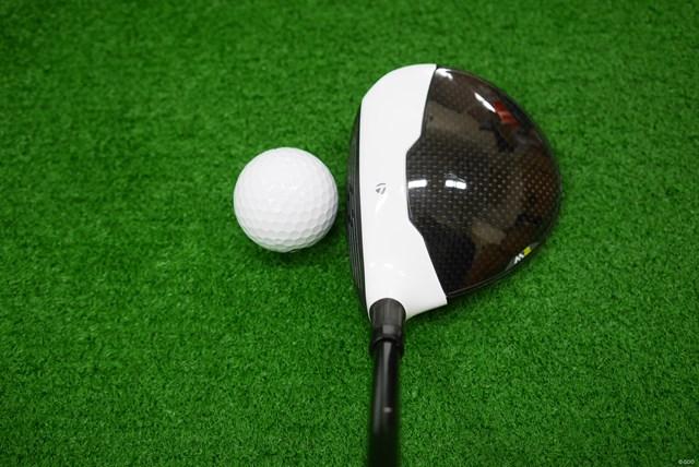 テーラーメイド M2 フェアウェイウッド マーク金井試打インプレッション ヘッド体積は175㏄と大きめで見た目に安心感がある丸型形状。前作よりも体積は19cc増えている