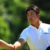 「65」をマークし首位タイに浮上した小野田享也 2017年 関西オープンゴルフ選手権競技 2日目 小野田享也