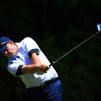 昔は派手なイメージがあったけど今は大人なコーディネート 2017年 関西オープンゴルフ選手権競技 2日目 カート・バーンズ