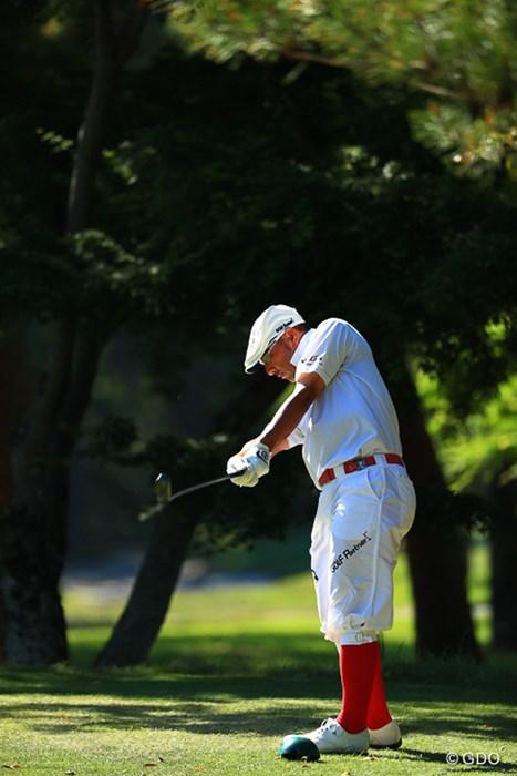 変わらないスタイル。これがプロ! 2017年 関西オープンゴルフ選手権競技 2日目 すし石垣