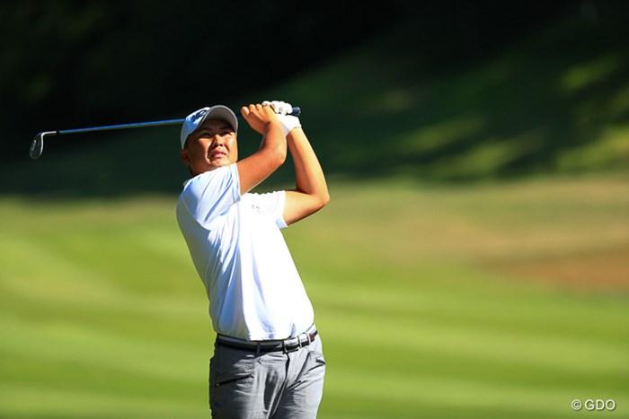 同じシンタロウの名前を持つ選手 2017年 関西オープンゴルフ選手権競技 2日目 小林伸太郎