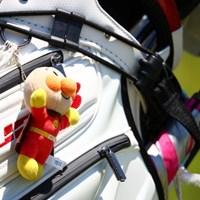気に食わないことがあったらアンパーンチで解決。 2017年 中京テレビ・ブリヂストンレディスオープン 初日 森井菖