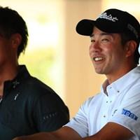 この日ベストの6アンダー「65」で首位に立った小野田享也 2017年 関西オープンゴルフ選手権競技 2日目 小野田享也