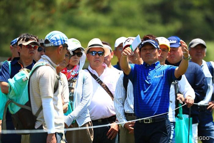 昨日まで試合に出てた人が次の日からは観戦ツアー 2017年 関西オープンゴルフ選手権競技 3日目 田中秀道