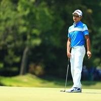 首位から出た小野田享也は悔しい「84」。このリベンジはいつか必ず 2017年 関西オープンゴルフ選手権競技 3日目 小野田享也